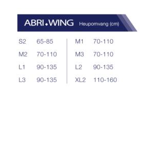 Abena-Abri-Wing-heupmaat