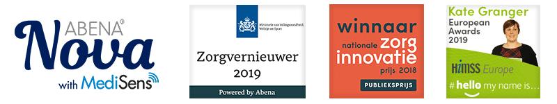 abena nova slim incontinentiemateriaal awards digitale luiers systeem oplossing verpleeghuizen