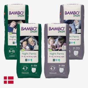 Bambo nature dreamy nachtbroekjes voor jongens en meisjes