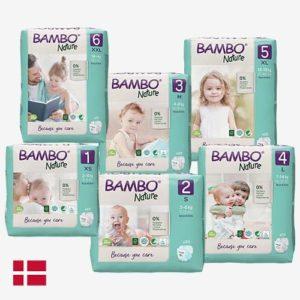 Bambo Nature duurzame babyluiers Abena