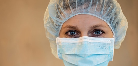 beschermende mondbeschermers infectiepreventie