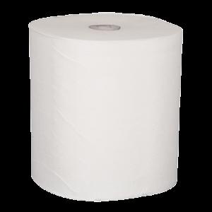 Abena papieren handdoek op rol 100% cellulose