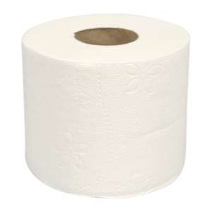 Abena Care-Ness toiletpapier van 100% cellulose 400 vel per rol