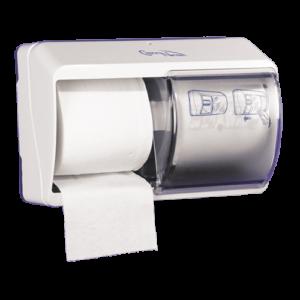 Abena Care-Ness dispenser voor twee rollen toiletpapier