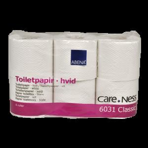 Abena Care-Ness 100% gerecycled toiletpapier 400 vel per rol