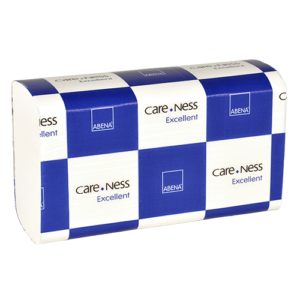 Abena Care-Ness papieren vouwhanddoeken 100% cellulose