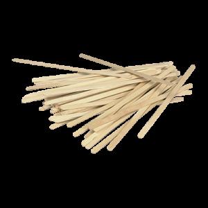 Abena houten roerstaafjes