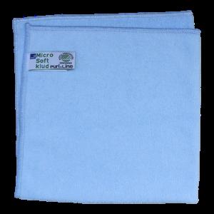 Abena Puri-Line microvezeldoek blauw met Nordic Ecolabel milieukeurmerk