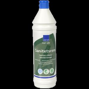 Abena Puri-Line duurzame alkalische sanitairreiniger met Nordic Swan Ecolabel
