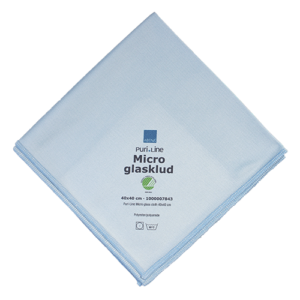 Abena Puri-Line glasdoek-blauw met Nordic Swan Ecolabel