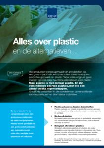 infographic en uitleg over milieuvriendelijke plastics