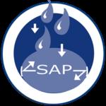 SAP voor snelle opname vocht en voorkomen van lekkages en nare geurtjes Abena