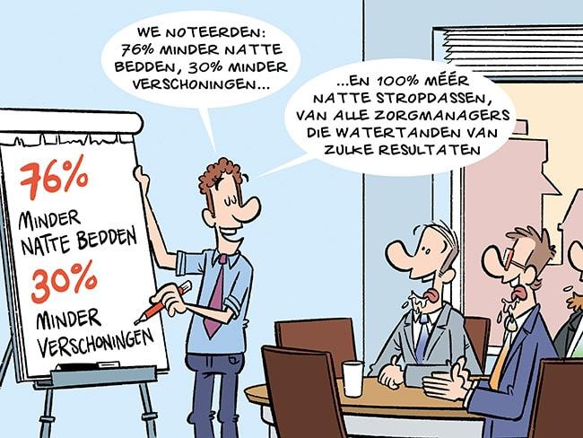 slimme incontinentie luier innovatie nederland