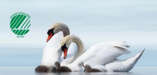 Milieukeurmerk Nordic Swan Ecolabel voor Abena Pants en Abri-Flex absorberende broekjes
