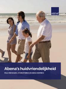 Abena's huidvriendelijkheid huidverzorging