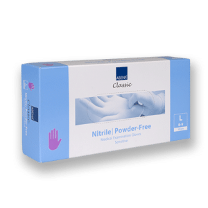 Handschoenen-nitril-paars-l