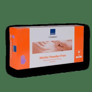 Handschoenen-nitril-paars-m