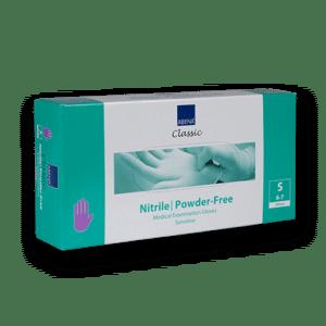 Handschoenen-nitril-paars-s