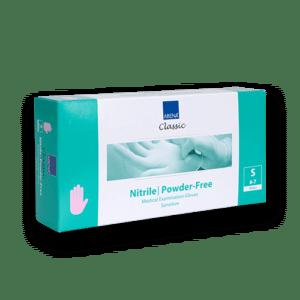 Handschoenen-nitril-paarsroze-s