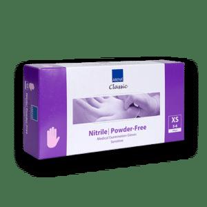 Handschoenen-nitril-paarsroze-xs