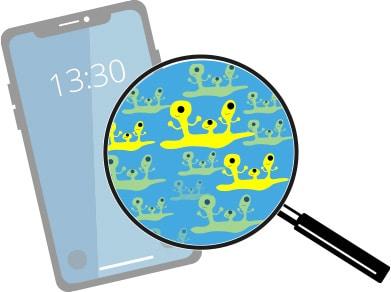 infectiepreventie-virus-bacterien-op-smartphones-telefoons